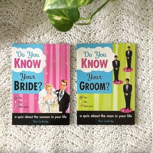 💜2-book set:How Well Do You Know Your Bride/Groom